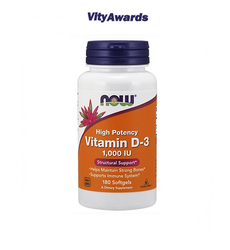 VITAMINA D-3 1000ui 180 Softgels